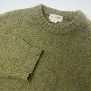 J.Crew Wool Pull Over Tight Knit Sweater